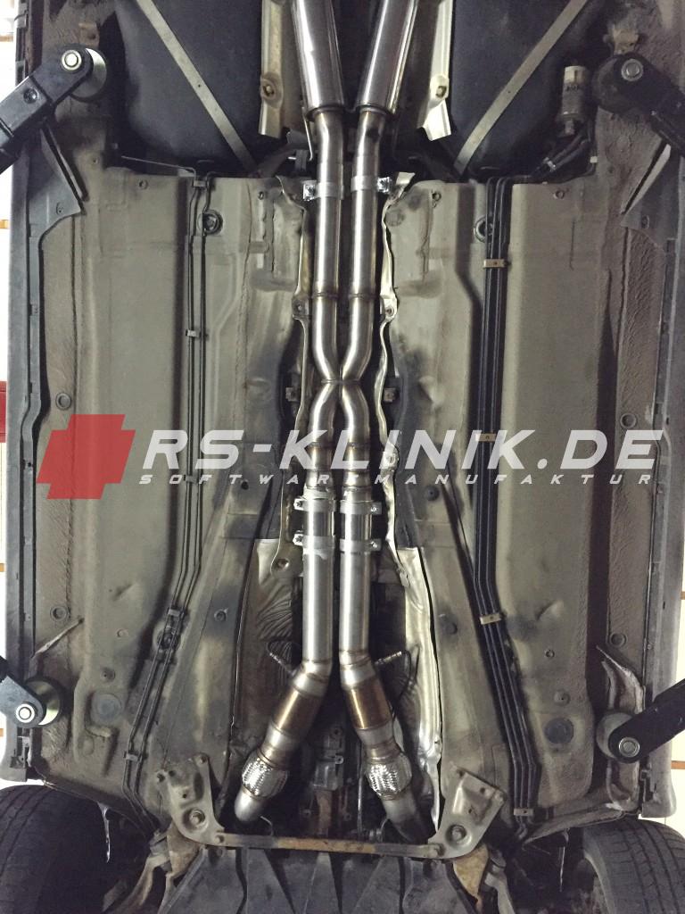 X-Pipe Audi A6 4B 2,7l V6 Biturbo