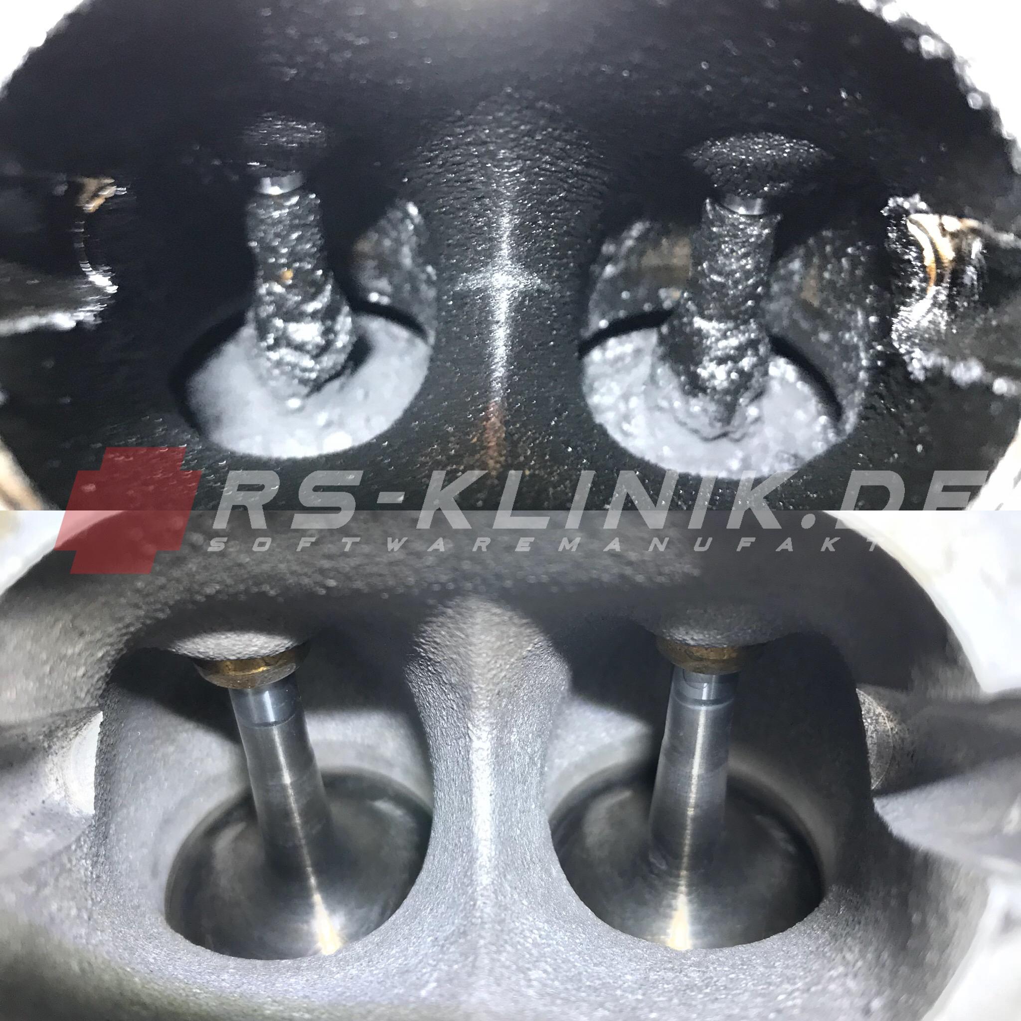 verkokung im motor reinigen